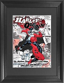 Harley Quinn 3D lenticular poster wall a
