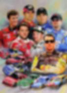 NASCAR 3D lenticular poster wall art dec