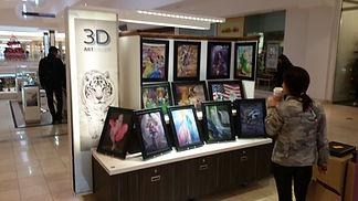 3D lentics poster wall art decor mall ca