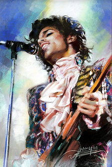 Prince 3D lenticular poster wall art dec