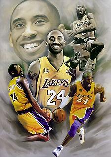 Kobe Bryant 3D lenticular poster wall ar