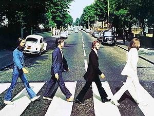 The Beatles 3D lenticular poster wall ar