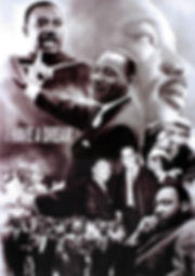 MLK 3D lenticular poster wall art decor