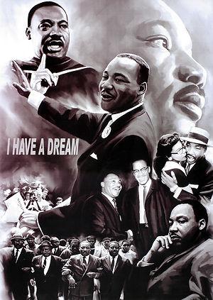 MLK 3D lenticular poster wall art decor