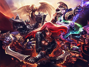 League of Legends 3D lenticular poster w