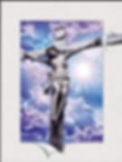 5D Jesus Cross 3D lenticular poster wall
