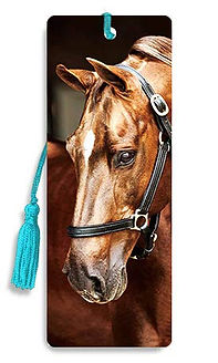 Brown Horse 3D Bookmark.jpg
