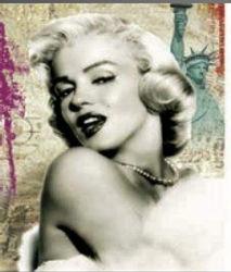 3D Flip Marilyn Monroe Pop 3D lenticular