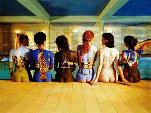 Pink Floyd 3D lenticular poster wall art
