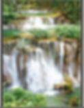 3D Flip Waterfalls 3D lenticular poster