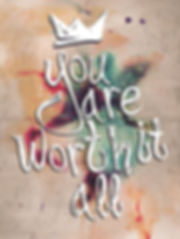 You Are Worth it All 3D lenticular poste
