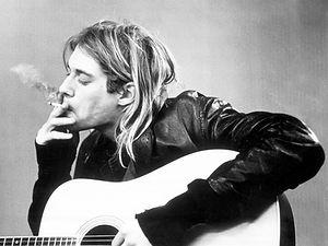 Kurt Cobain 3D lenticular poster wall ar