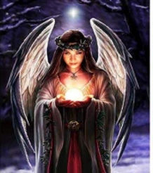 3D Flip Light Angel 3D lenticular poster