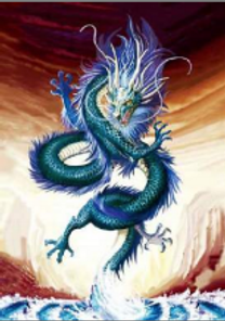 Chinese Dragon 3D Lenticular Poster wall