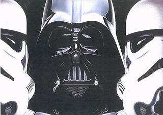 Dark Force 3D lenticular poster wall art