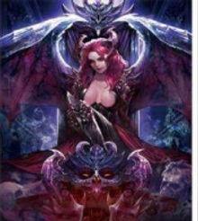 3D Flip Skull Queen 3D lenticular poster