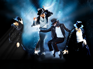 Michael Jackson 3D lenticular poster wal