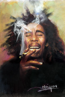 Bob Marley 3D lenticular poster wall art