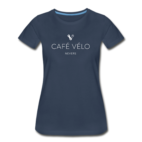 T-shirt Café Vélo femme