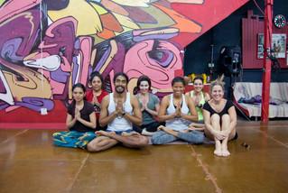 Mira lo que aconteció en nuestro primer taller de Ashtanga Yoga del 2017.