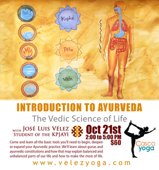 Introduction to Ayuerveda: The Vedic Sciende of Life