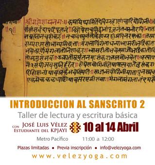 Profundiza en tus estudios sobre el idioma del Yoga: Introducción al Sánscrito 2