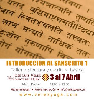 En abril puedes aprender el idioma del Yoga: Introducción al Sánscrito 1