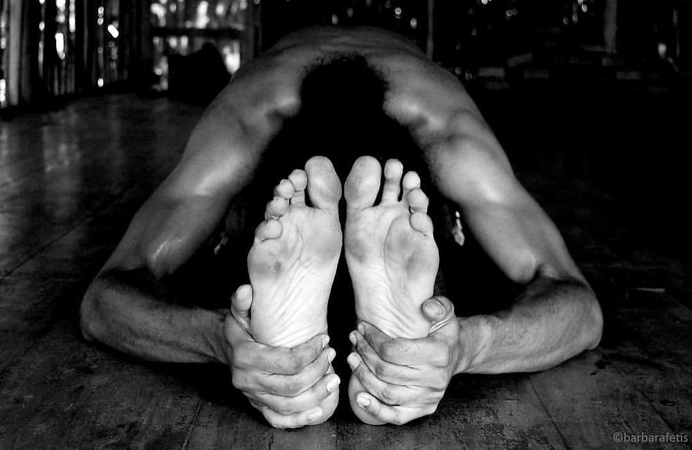 Barbara Fetis Pashchimattanasana Paschimottanasana Velez Yoga Panama Ashtanga