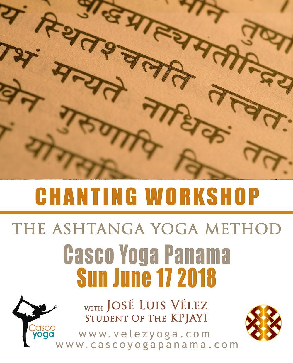 Ashtanga Yoga Workshop Panama Jump Back Jump Through Casco Viejo Casco Antiguo VelezYoga Velez Yoga