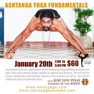 Ashtanga Yoga Fundamentals Workshop
