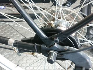 ママチャリの後輪ブレーキ交換