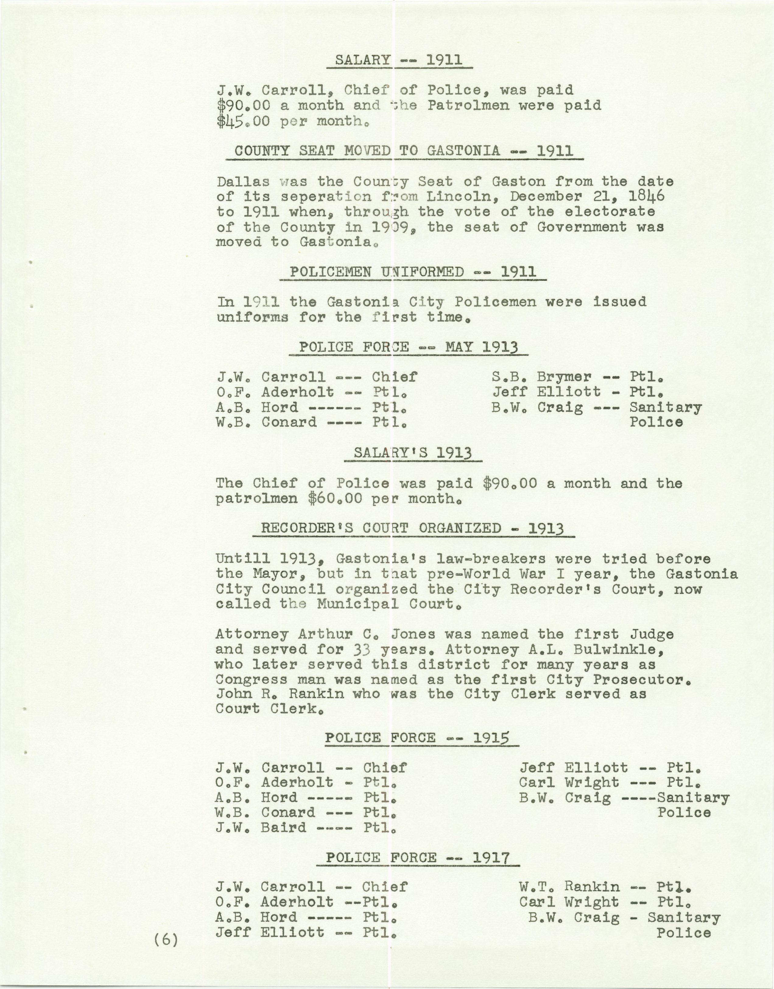 History of the Gastonia Police Department_Page_07