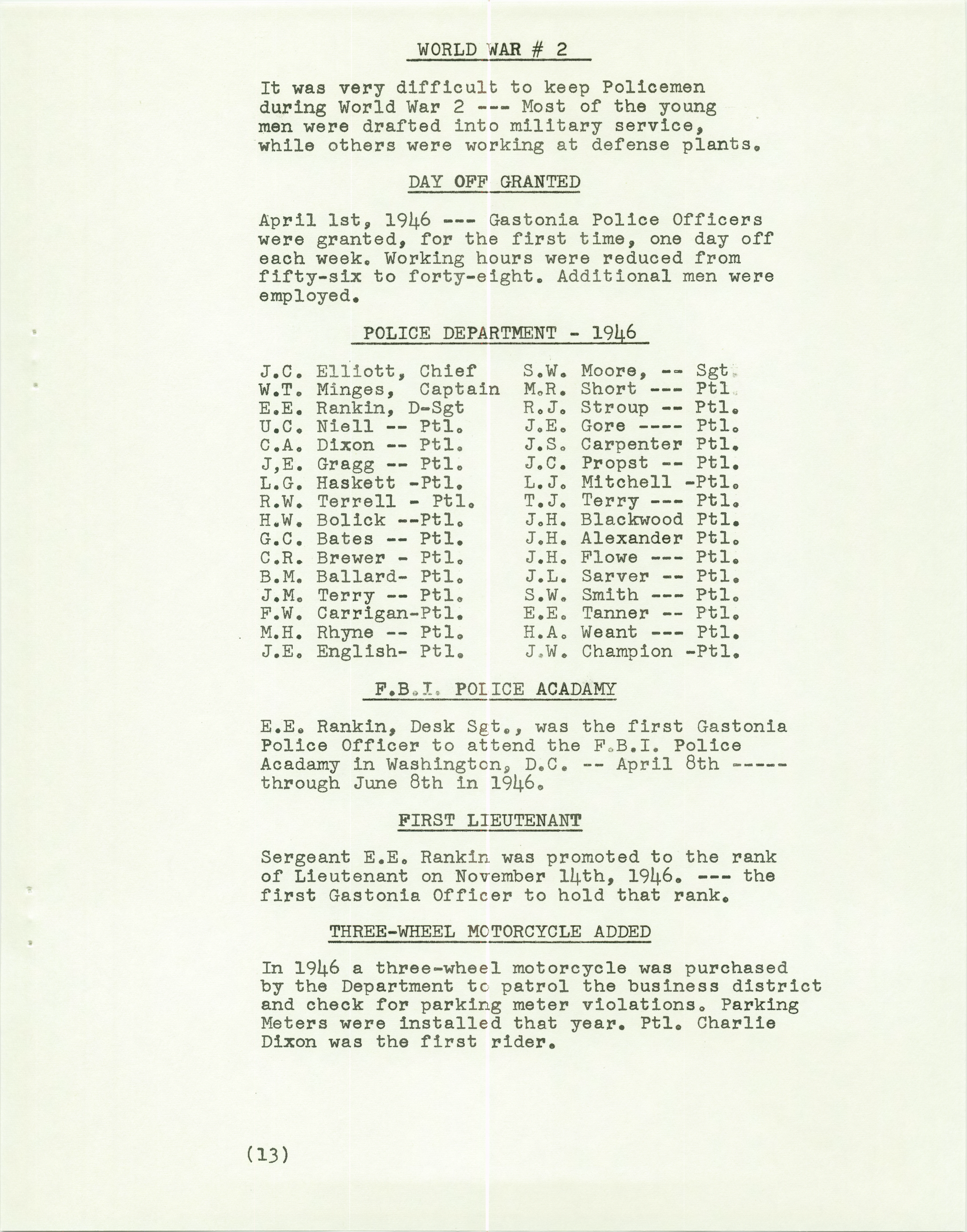 History of the Gastonia Police Department_Page_14