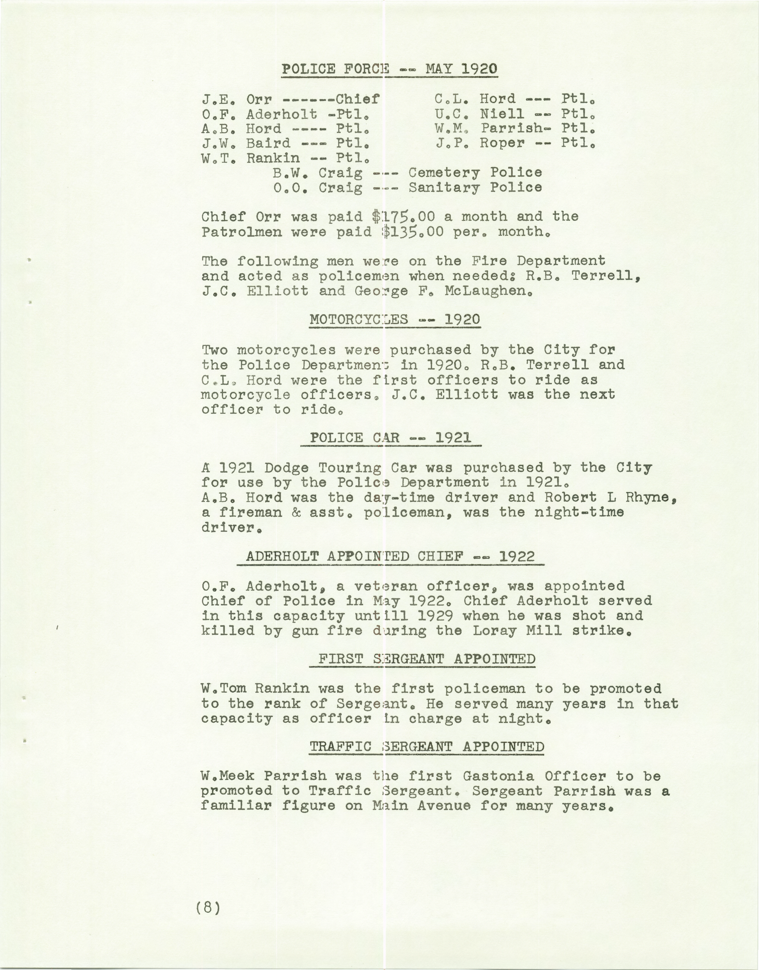 History of the Gastonia Police Department_Page_09