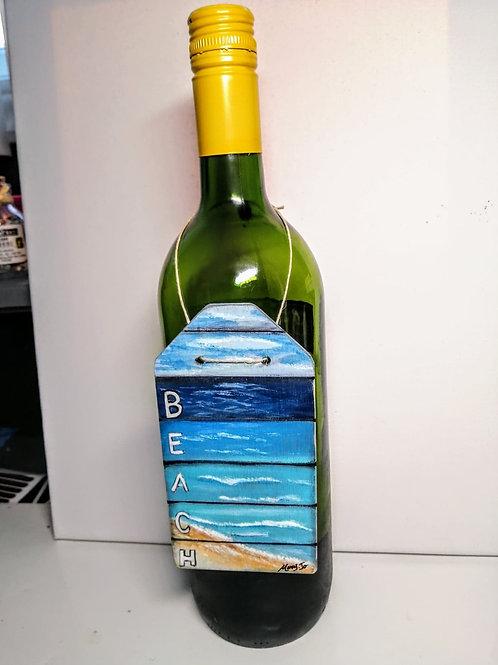 Déco pour bouteille de vin