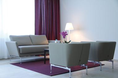 Lounge der Geburtsklinik