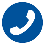 Icon of a telephone symbol