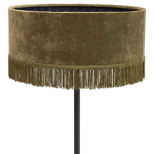 Velvet Fringe Floor Lamp