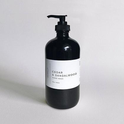 Cedar + Sandalwood Hand Wash