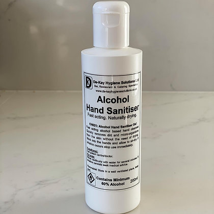 Alcohol Hand Sanitiser Gel 200ml