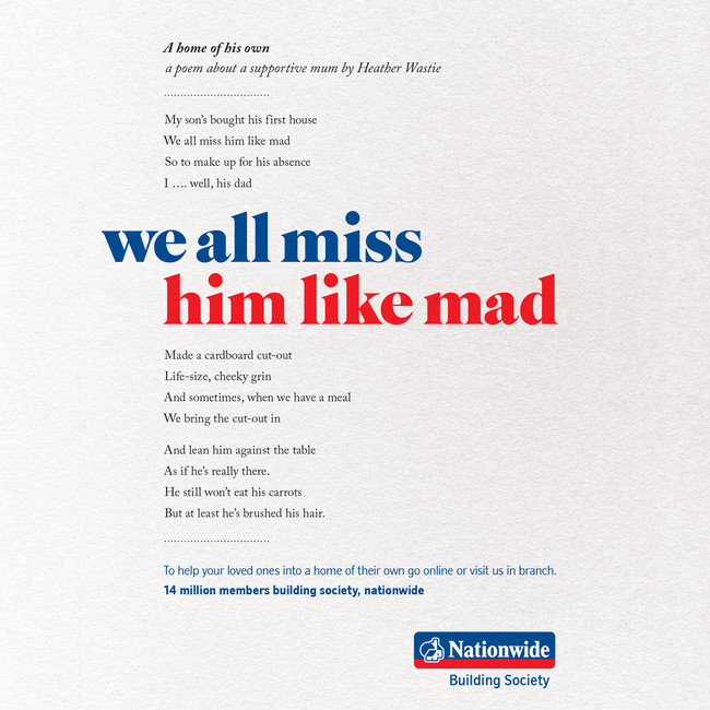 Nationwide poetry press