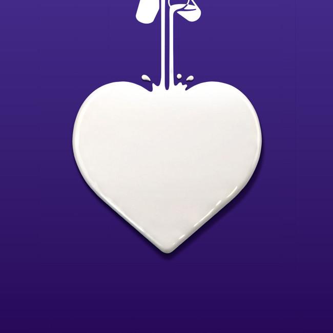 Cadbury Heart poster