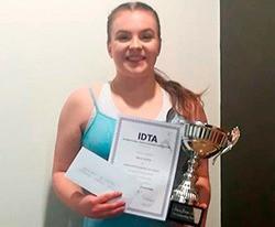 Grace Johns wins the Anna Jones Cup!