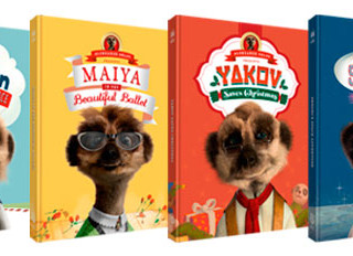 Meerkat Tales books