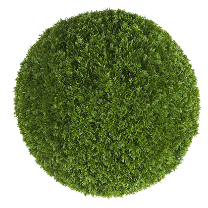 Artificial Topiary Ball Cypress 38cm