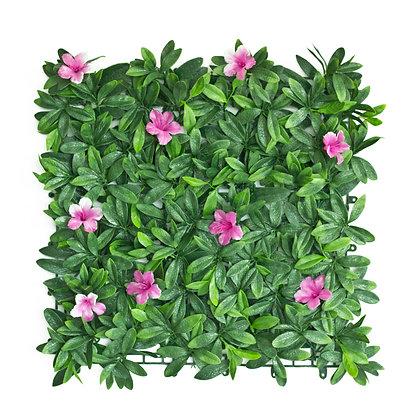 Pink Petal 50x50cm Artificial Hedge Tile