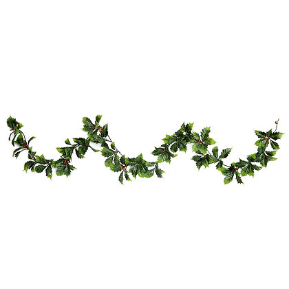 Holly and Berries Xmas Garland