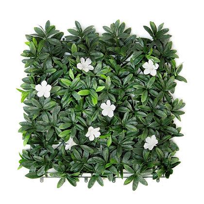 White Petal 50x50cm Artificial Hedge Tile