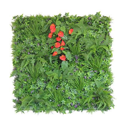 Anthurium 1x1m Artificial Hedge Tile