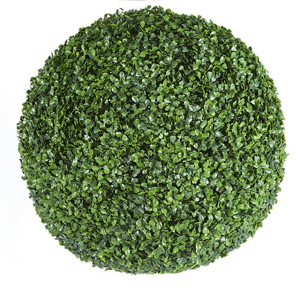 Artificial Topiary Ball English Box 38cm